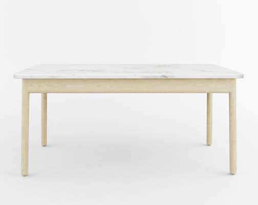 Christopher Specce Farm Table For Matter - Marble top farm table